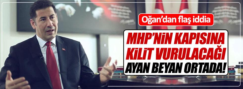 Sinan Oğan: MHP'nin kapısına kilit vurulacak