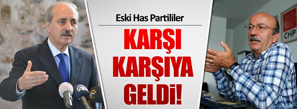 Mehmet Bekaroğlu ve Numan Kurtulmuş karşı karşıya geldi