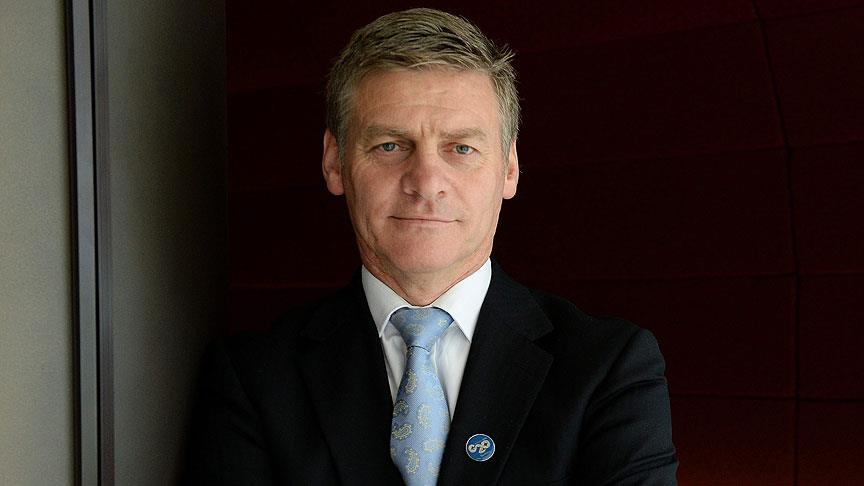 Yeni Zelanda'nın başbakanı Bill English