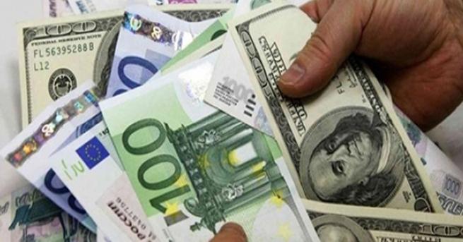 Dolar ve euro düşüşte