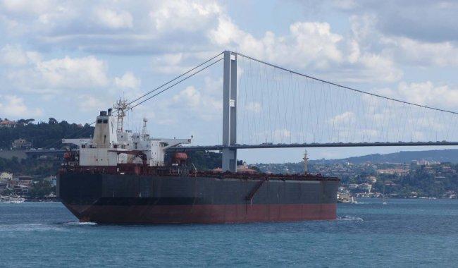 Boğaz'da gemi paniği!