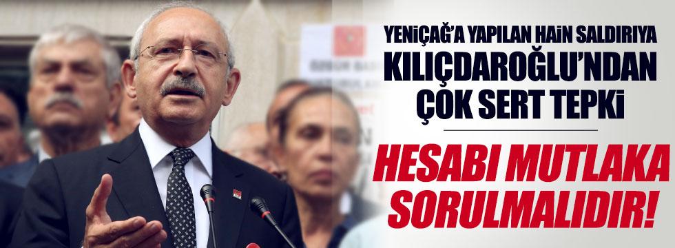 Yeniçağ'a, hain saldırya Kılıçdaroğlu'ndan tepki