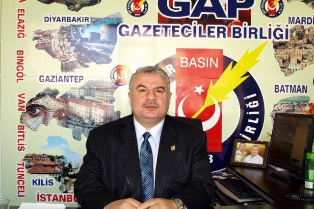 GAP Gazeteciler Birliği'nden tepki