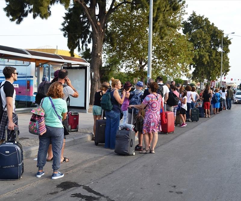 Çanakkale'deki sınır kapısı kapatılıyor