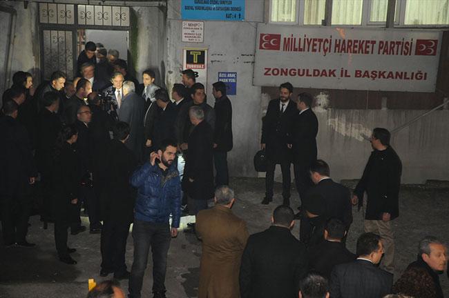 Binali Yıldırım'dan MHP İl Teşkilatına ziyaret