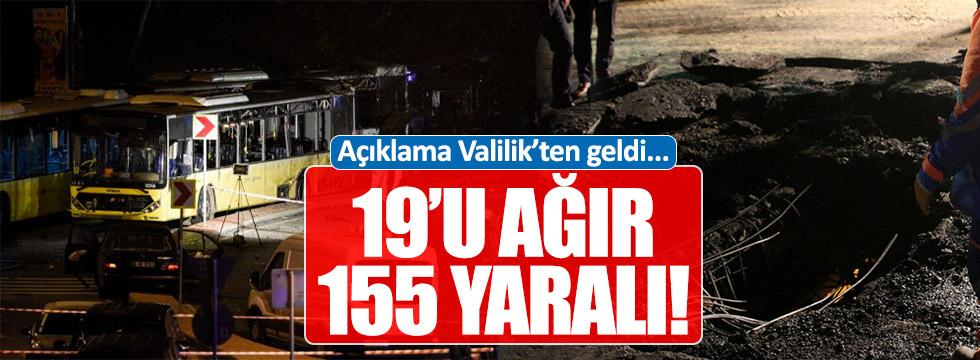 İstanbul'daki patlamaya Valilik'ten açıklama