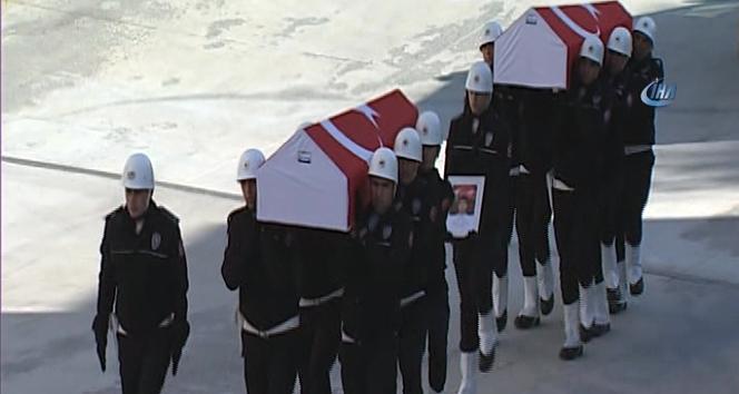 Beşiktaş şehitlerine uğurlama