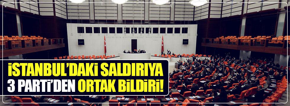 Meclis'ten ortak bildiri