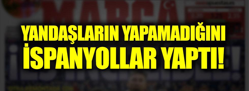 Ünlü İspanyol gazete Türkleri unutmadı