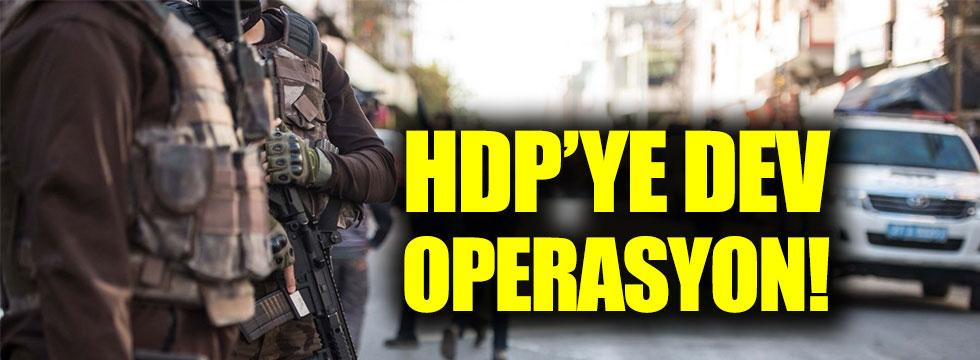 HDP'ye dev operasyon