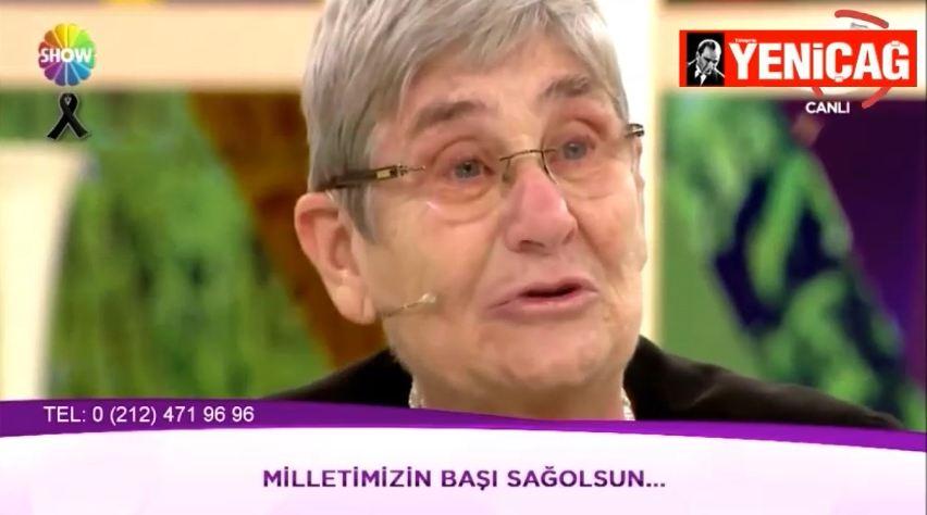 Canan Karatay Türkiye'yi gözyaşlarına boğdu