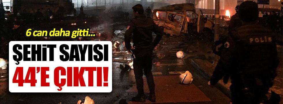 Sağlık Bakanı Recep Akdağ: Şehit sayısı 44'e çıktı