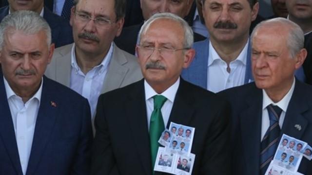 Başbakan, Kılıçdaroğlu ve Bahçeli'yle görüşecek