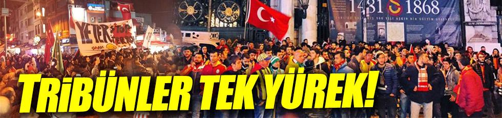 Beşiktaş'taki patlama taraftarları biraraya getirdi