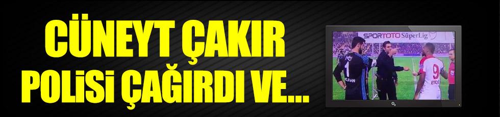 Cüneyt Çakır'dan polise dikkat çeken hareket