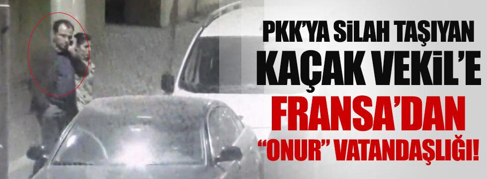 HDP'li vekile Fransa'dan skandal karar