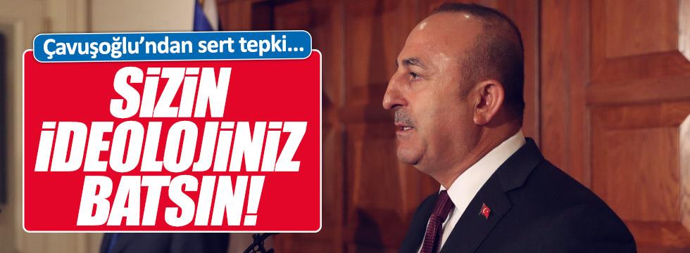 Çavuşoğlu'ndan AP'ye sert tepki