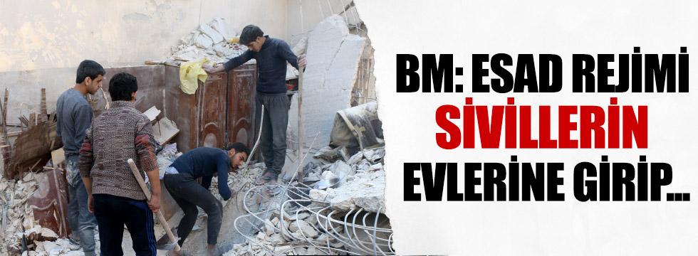 BM: Esad rejimi evlere girip sivilleri öldürdü