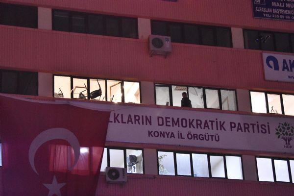 HDP binasına saldırı