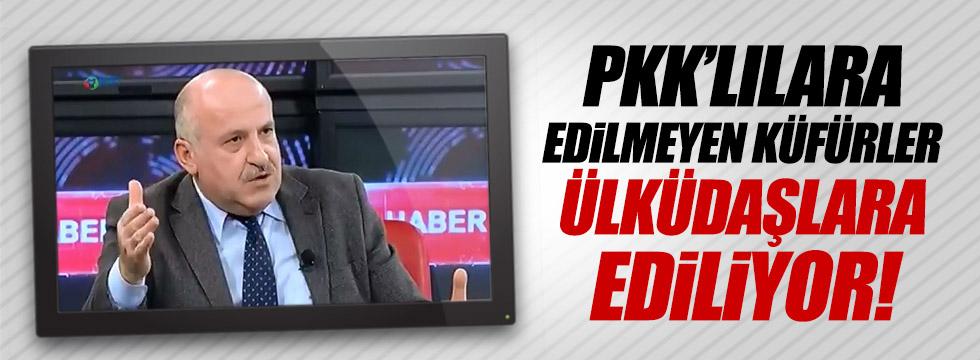 PKK'lılara edilmeyen küfürler, Ülküdaşlara ediliyor