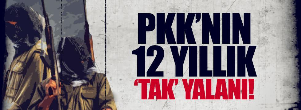 PKK'nın 'TAK' yalanı
