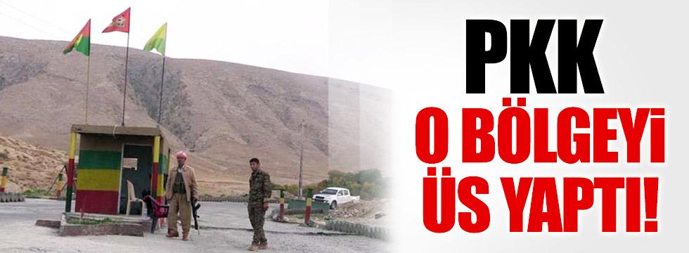 PKK'lı teröristlerin yeni üssü