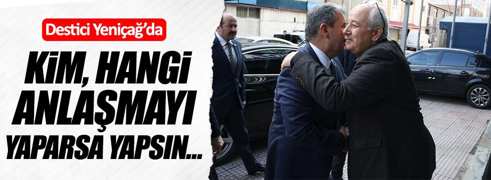 Mustafa Destici'den Yeniçağ'a ziyaret