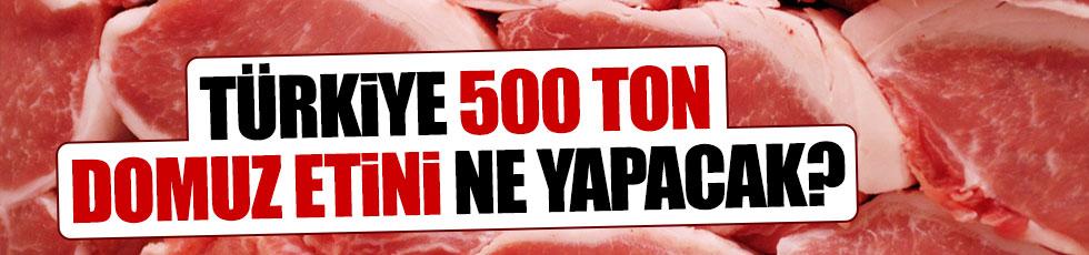 Türkiye 500 ton domuz eti ithal edecek
