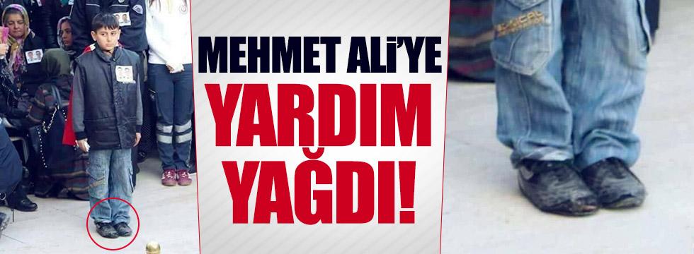 Mehmet Ali'ye yardım yağdı