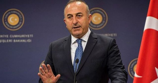 Çavuşoğlu'ndan, YPG açıklaması