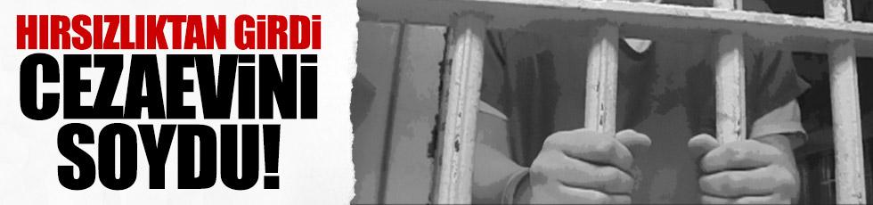 Hırsızlıktan girdiği cezaevinin kasasını soyup kaçtı
