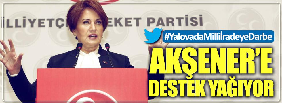 Meral Akşener'e destek yağıyor