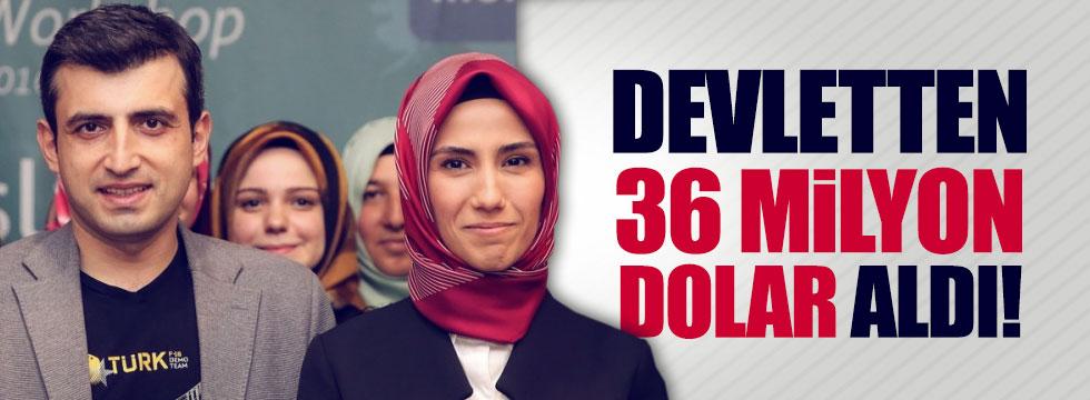 Damat Bayraktar devletten 36 milyon dolar aldı