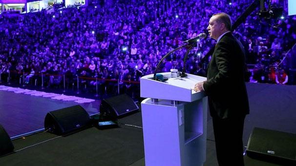 Erdoğan o programını iptal etti