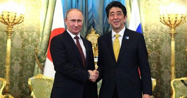 Putin, 11 yıl sonra Japonya'da