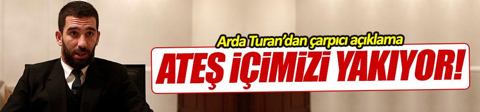 Arda Turan'dan terör açıklaması