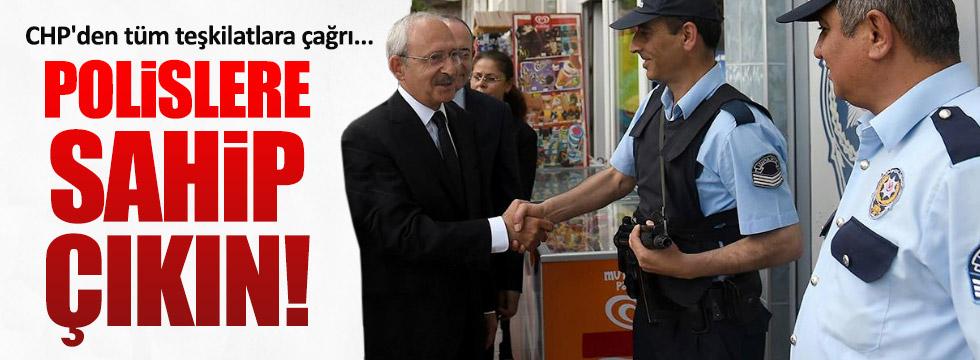 Kılıçdaroğlu'ndan polise destek