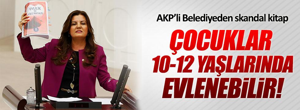 AKP'li Belediyeden kadınları değersizleştiren kitap