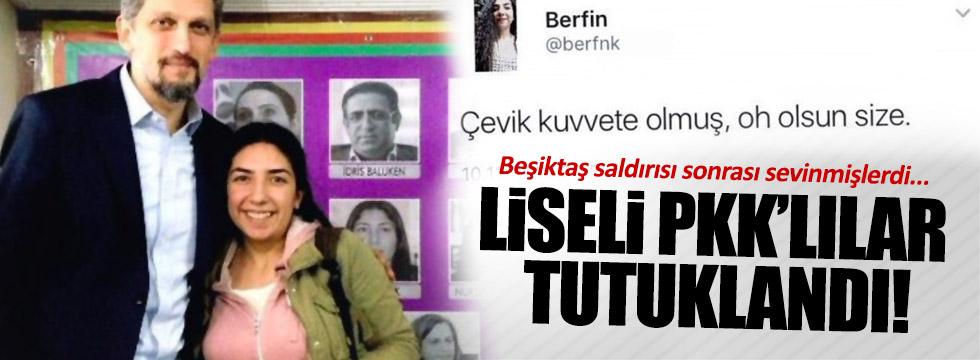 Liseli PKK'lı tutuklandı