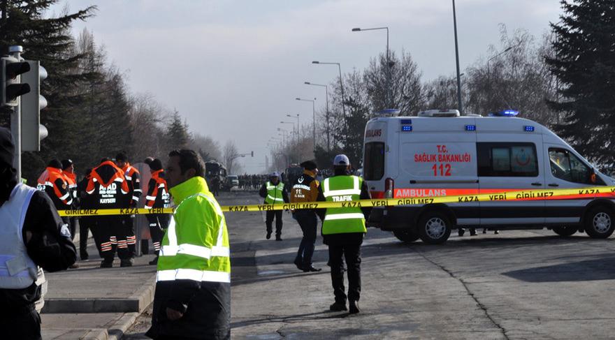 Kayseri'deki saldırı sonrası 15 kişi gözaltına alındı