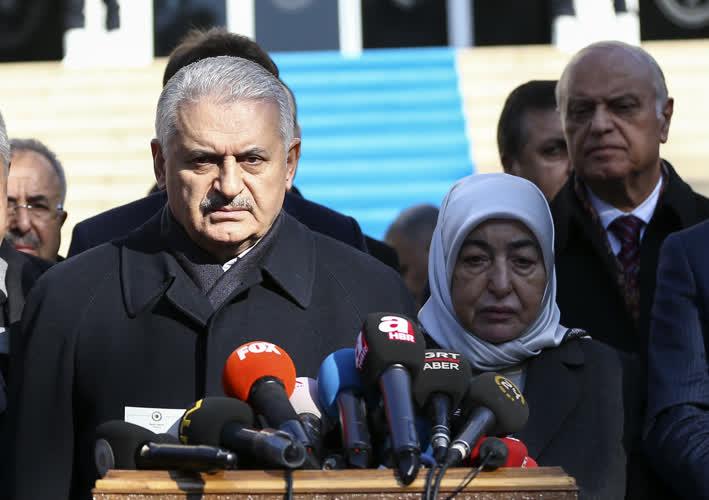 Başbakan'dan canlı bomba açıklaması