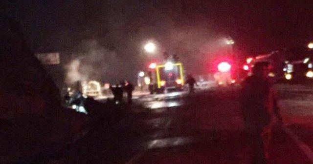Aydın'da Yakıt tankeri patladı: 3 ölü
