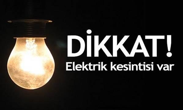 İstanbul'un 19 ilçesinde elektrik kesintisi