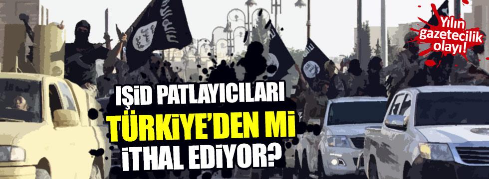 IŞİD patlayıcıları Türkiye'den mi ithal ediyor?