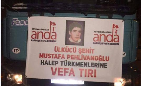 Türkmenlere anlamlı yardım