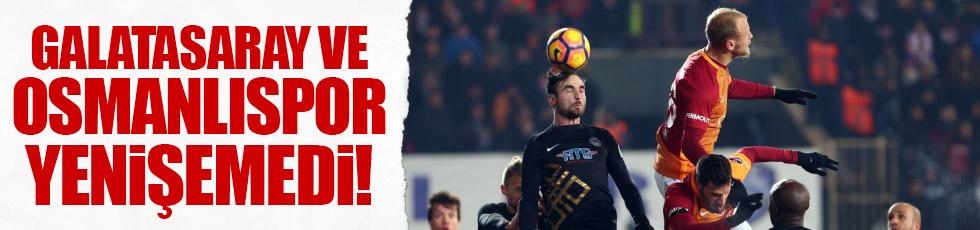 Galatasaray ve Osmanlı yenişemedi / Maç Özeti