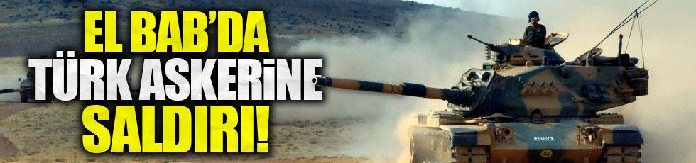 Suriye'de Türk askerine saldırı