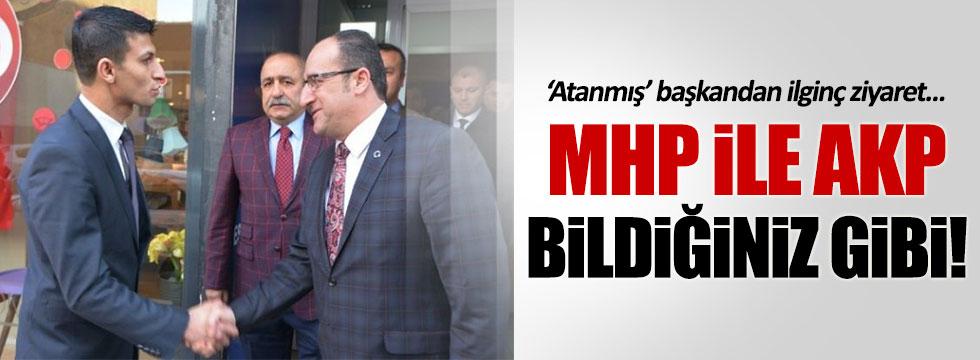 MHP'den AKP'ye ilginç ziyaret