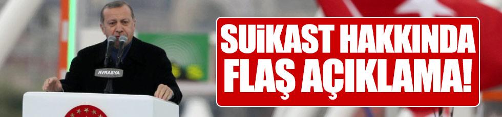 """Erdoğan: """"Suikastin bağlantıları ortaya çıkıyor"""""""