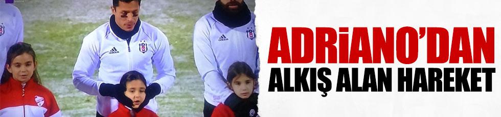Adriano'dan kalpleri ısıtan hareket